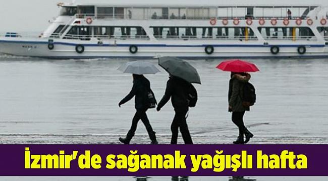 İzmir'de sağanak yağışlı hafta