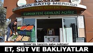 İzmir'de tanzim satış noktası! O ilçede et, süt ve bakliyatlar daha ucuz