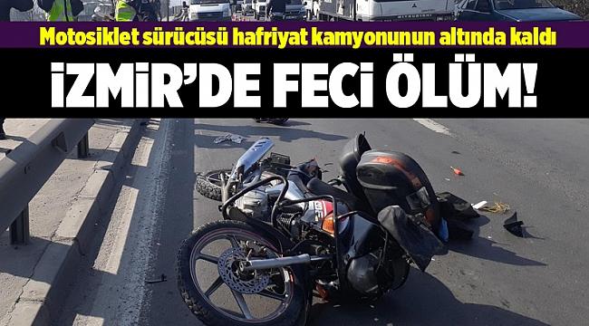 İzmir'de trafik kazası can aldı
