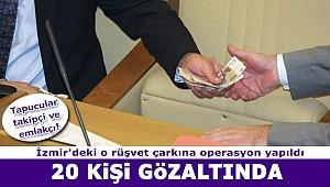 İzmir'in o ilçesindeki tapu müdürlüğüne rüşvet operasyonu! Çok sayıda gözaltı var