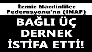 iZMiR MARDiNLiLER FEDERASYONU'NDA iSTiFA HABERi