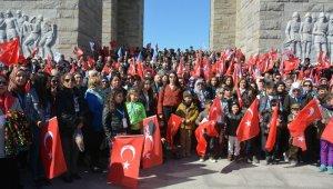 3 bin kişilik Çanakkale kafilesi Aliağa'ya döndü