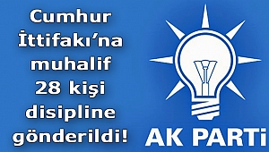AK Parti'de 28 İsim Disipline Gönderildi!