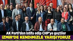 AK Parti'den istifa edip CHP'ye geçtiler