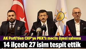 """AK Partili Dağ: """"CHP listelerinde terörle ilişkili olan kişiler var"""""""