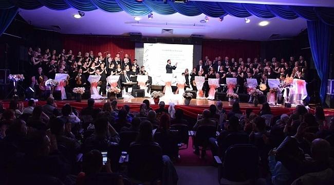 ASEV TSM'den Aliağalılara müzik ziyafeti