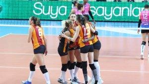 AXA Sigorta Kupa Volley: Galatasaray HDI Sigorta 3 - Aydın BŞB.: 2