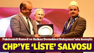 Bakan Pakdemirli'den CHP'ye 'liste' salvosu