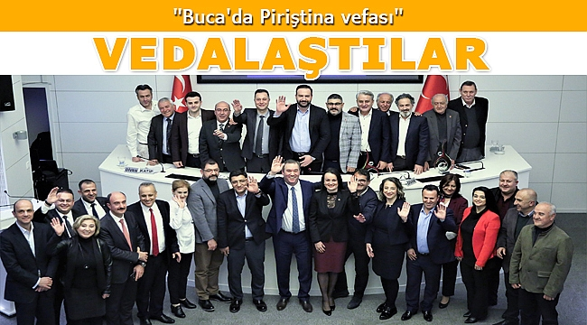 Başkan Piriştina, meclis üyeleriyle vedalaştı