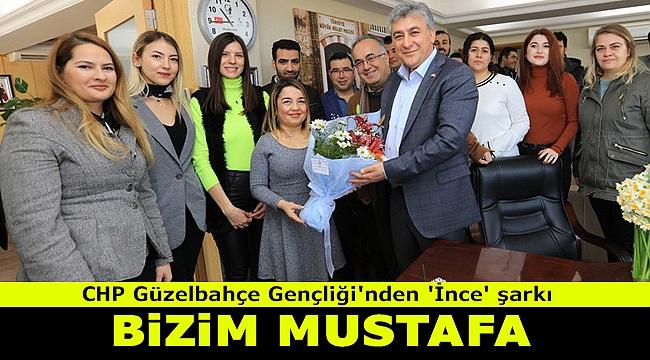 CHP Güzelbahçe Gençlik Kolları'ndan Başkan İnce'ye şarkı
