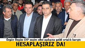 CHP Menderes'te Seçim Ofisi Açılışında Gerginlik Yaşandı