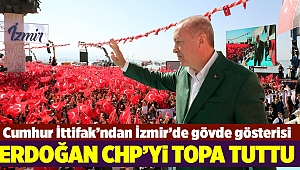 Cumhurbaşkanı Erdoğan'dan İzmir mesajları