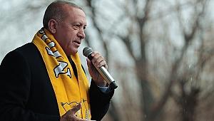 Cumhurbaşkanı Erdoğan: 'Vatan toprağı üzerinde ameliyat yapılmasına göz yummayız'