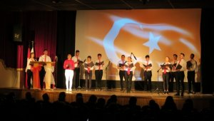 Foça'da İstiklal Marşı ve Mehmet Akif Ersoy'u anma programı