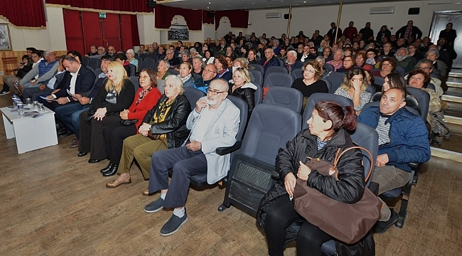 Foça'daki belgesel film akşamında geçmişe yolculuk