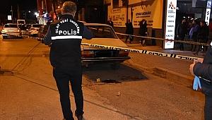 İlçe Emniyet Müdürlüğünün önünde silahlı kavga: 1 yaralı
