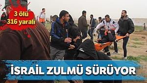 İsrail askerleri 2 kişi Filistinliyi öldürdü, 316 Filistinliyi yaraladı
