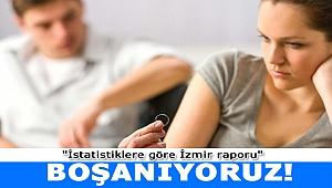 İstatistiklere göre en çok İzmir boşanıyor