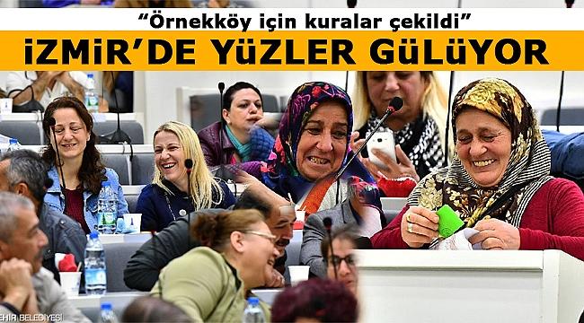 İzmir'de yüzler gülüyor