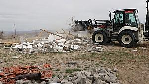 Kapadokya'da yıkılan kaçak yapı sayısı 53'e ulaştı