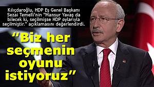 Kemal Kılıçdaroğlu'ndan Sezai Temelli açıklaması! Bizi ilgilendirmez