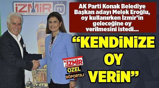 """""""KENDİNİZE OY VERİN"""""""