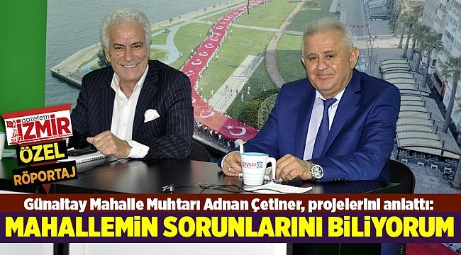MAHALLEMİN SORUNLARINI BİLİYORUM
