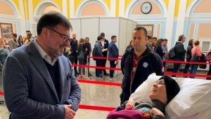 MÜSİAD Başkanı Saygılı'dan engel tanımayan başarıya destek