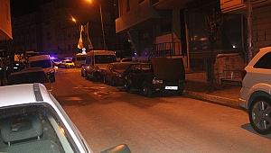 Park halindeki LPG'li araç alev alev yandı