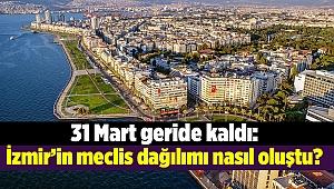 31 Mart geride kaldı: İzmir'in meclis dağılımı nasıl oluştu?
