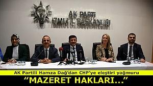 AK Parti'li Dağ: