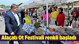 Alaçatı Ot Festivali renkli başladı