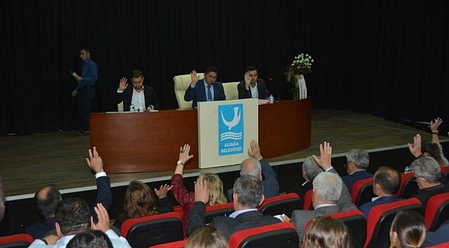Aliağa'da ilk meclis toplandı