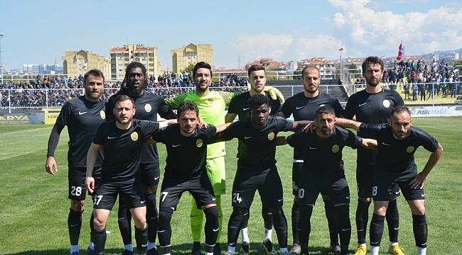 Aliağaspor FK kendi sahasında mağlup oldu