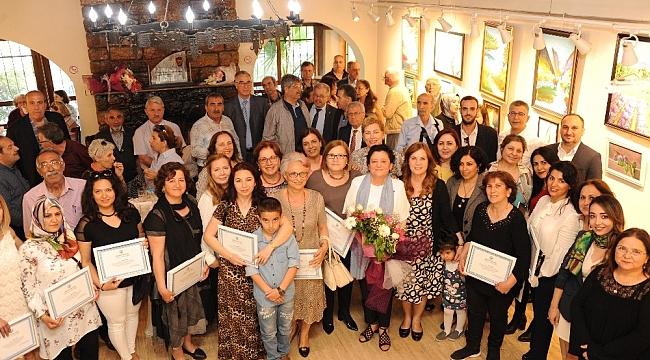 Balçova'nın ressam kadınları