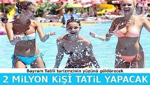 Bayram tatili turizmciyi rahatlattı