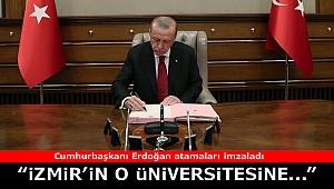Cumhurbaşkanından 5 üniversiteye atama