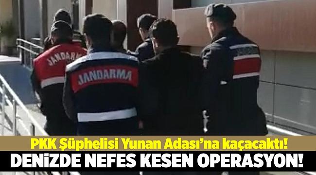 Denizde nefes kesen PKK operasyonu