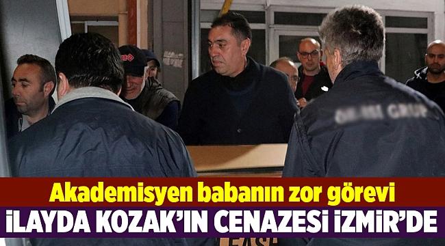 İlayda Kozak'ın cenazesi İzmir'de