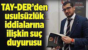 İstanbul'daki seçimlere ilişkin usulsüzlük iddialarına suç duyurusu