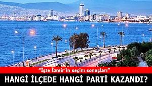 İşte İzmir 2019 Yerel Seçim sonuçları
