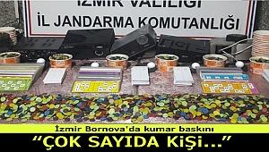 İzmir Bornova'da kumar baskını! Çok sayıda kişi yakalandı