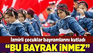 İzmir'de bayram coşkusu