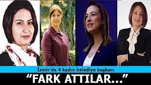 İzmir'de seçilen belediye başkanlarının 4'ü kadın