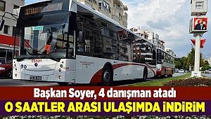 İzmir'de toplu taşıma araçlarında belli saatlerde indirim uygulanacak
