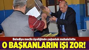 İzmir'in 2 ilçesinde başkanlar ve meclis üyelerinin çoğu ayrı partiden