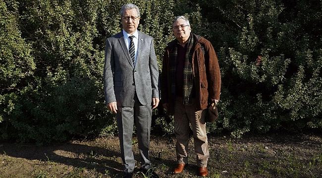 Rektör Budak'tan girişimcilere sakız ağacı yetiştiriciliği çağrısı