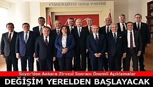 Soyer Ankara Zirvesi Sonrası Konuştu: