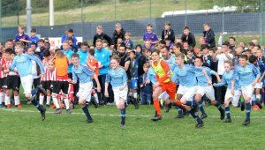 U12 İzmir Cup'ta Manchester City şampiyon oldu