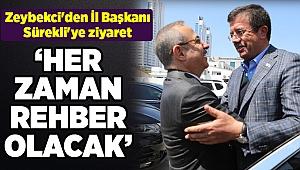 Zeybekci'den İl Başkanı Sürekli'ye ziyaret